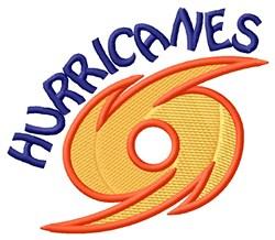 Hurricanes Mascot embroidery design