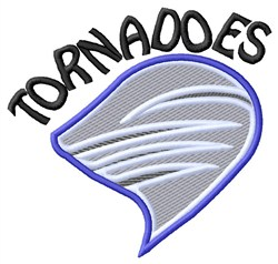 Tornadoes Mascot embroidery design