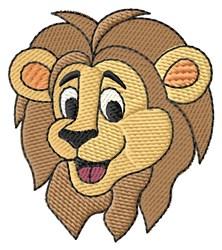 Lion Head embroidery design