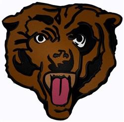 Bear Mascot embroidery design