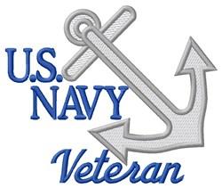 U.S Navy Veteran embroidery design