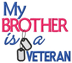 Brother Vet Tags embroidery design