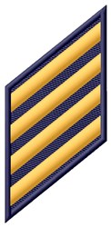Four Stripes embroidery design