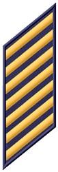 Seven Stripes embroidery design
