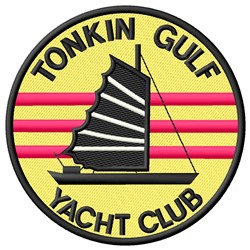 Tonkin Gulf embroidery design