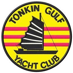 Tonkin Gulf Applique embroidery design