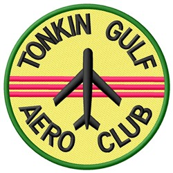Tonkin Aero embroidery design