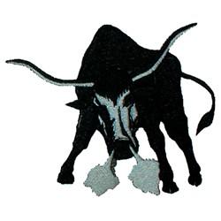 Longhorns embroidery design