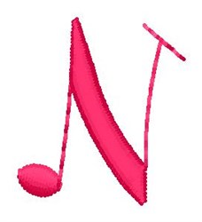 Music N embroidery design