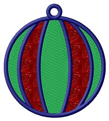 Round Ornament Applique  embroidery design