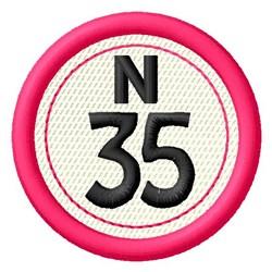 Bingo N35 embroidery design