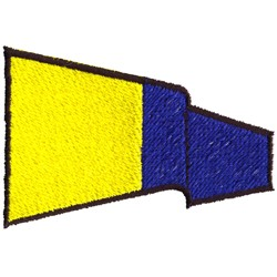 International Pennant 5 embroidery design