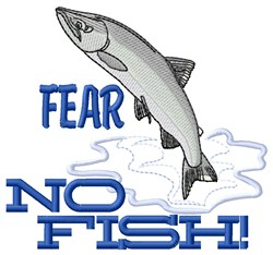 Fear no fish embroidery designs machine embroidery for Fear no fish