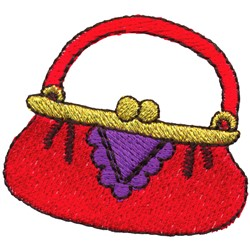 Purse embroidery design