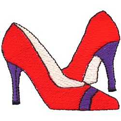 High Heels embroidery design