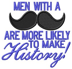 Make History embroidery design