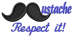 Respect It embroidery design