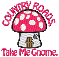 Country Roads embroidery design