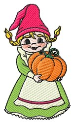 Gnome Wife embroidery design