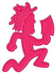 Hatchet Man Logo embroidery design