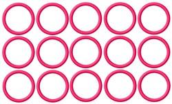 Bingo Circles embroidery design