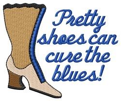 Pretty Boots embroidery design