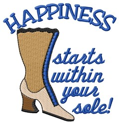 Sole Happy embroidery design