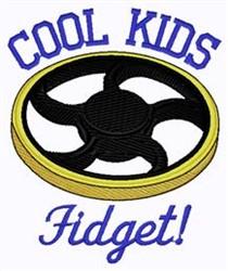 Cool Kids Fidget embroidery design