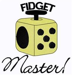 Fidget Master embroidery design