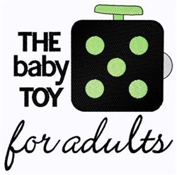 Baby Toy For Adults embroidery design