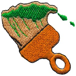 Paint Brush embroidery design
