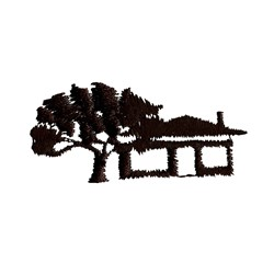 Homestead Silhouette embroidery design
