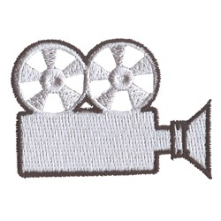 Projector embroidery design