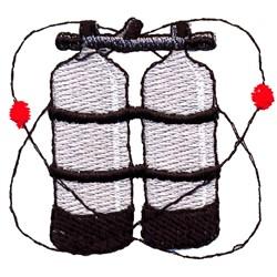 Pressure Tanks embroidery design