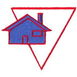 House Logo embroidery design