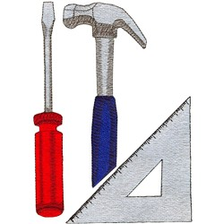 Carpentry logo embroidery design