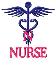 Nurse embroidery design