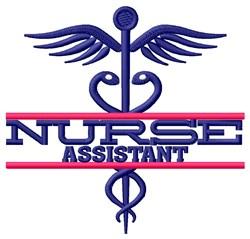 Nurse Assistant embroidery design