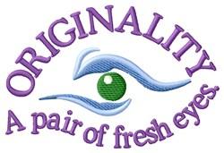 Fresh Eyes embroidery design