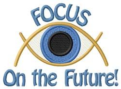 Focus On Future embroidery design