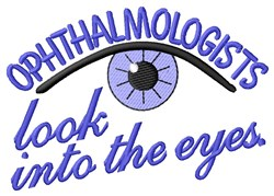 Look Into Eyes embroidery design