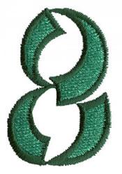 Oriental 8 embroidery design