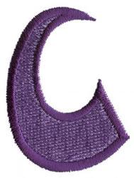 Oriental C embroidery design