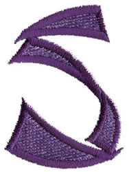 Oriental S embroidery design