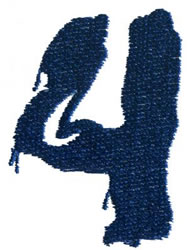 Paint 4 embroidery design