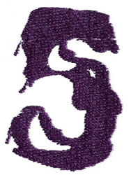 Paint 5 embroidery design