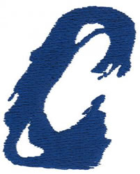 Paint C embroidery design