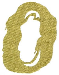 Paint O embroidery design