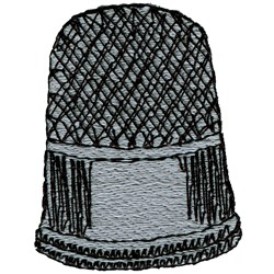 Thimble embroidery design