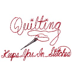 Quilting Saying embroidery design